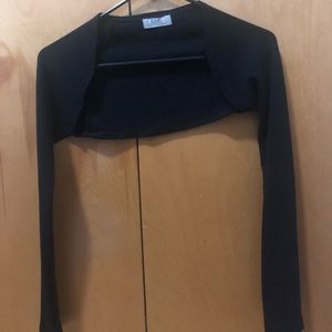 Other - Black Long-sleeved Bolero